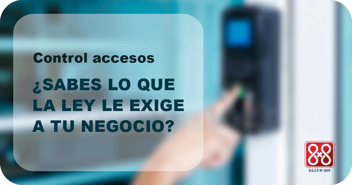 control accesos negocios
